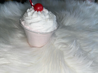 Strawberry milkshake powdered Bubble Bath