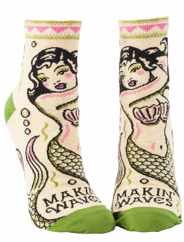 Makin Waves Ankle Socks