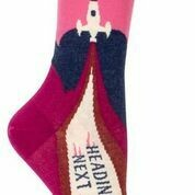 Heading to Next Mistake Crew Socks