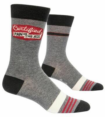 Certified Pain Ass Men's Crew Socks
