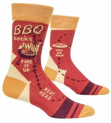 BBQ Men's Crew Socks