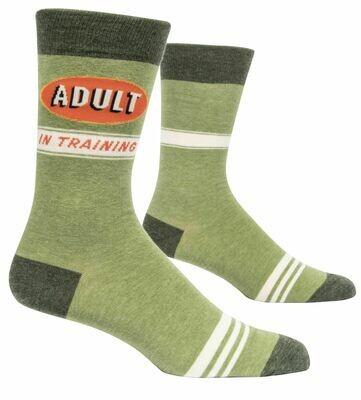 Adult in Training Mens Socks