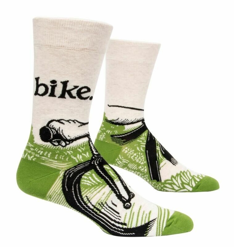 Bike Path Mens Socks
