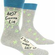 Not Gonna Lie Men's Crew Socks