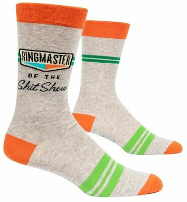 Ringmaster ShitShow Men's Crew Socks