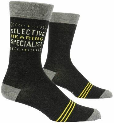 Selective Hearing Men's Crew Socks
