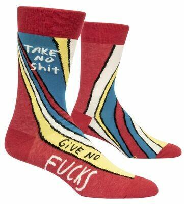 Take No Shit Mens Socks
