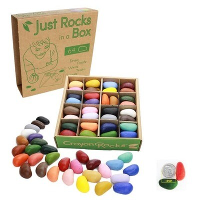 Rock Crayons in a Box