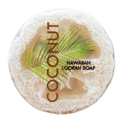Coconut Sea Salt & Kukui 2-n-1 Loofah Soap