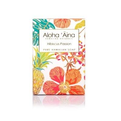 Aloha 'Aina Hibiscus Passion Pure Soap