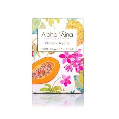 Aloha 'Aina Plumeria Nectar Pure Soap