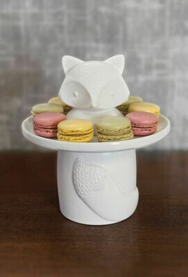 Fox Ceramic Treat Jar