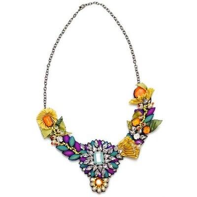 Marigold Carnival Necklace