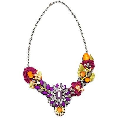 Violet Carnival Necklace