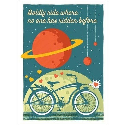 Boldly Ride Card