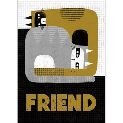 Cats Friendship Card