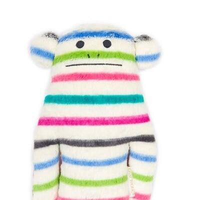 Loris Stripe Small Stuffed Animal Pillow
