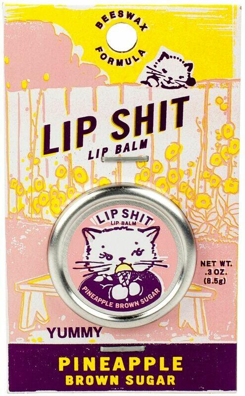Lip Shit PineappleSugar Lip Balm