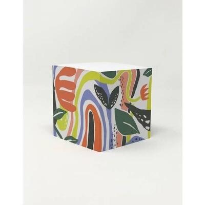 Fantastic Garden Sticky Note Cube