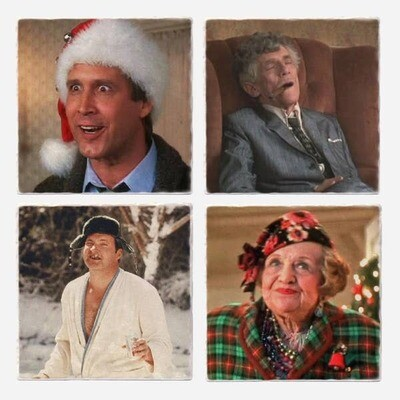 Lampoon's Christmas Coasters