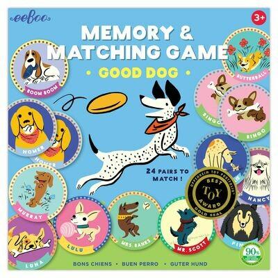Good Dog Memory Matching Game