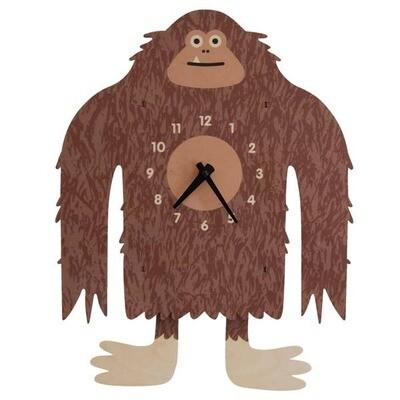 Bigfoot Yeti Pendulum Clock