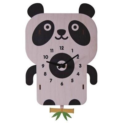 Panda Pendulum Clock