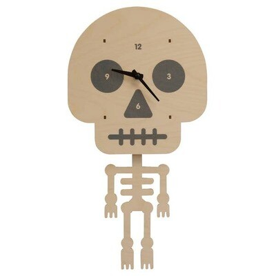 Skeleton Pendulum Clock