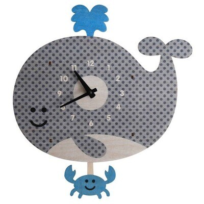 Whale Pendulum Clock