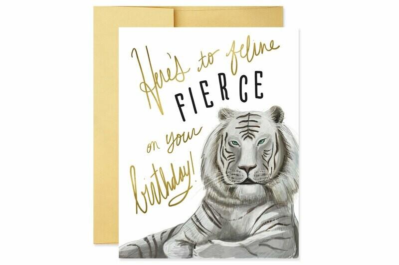 Feline Fierce Card