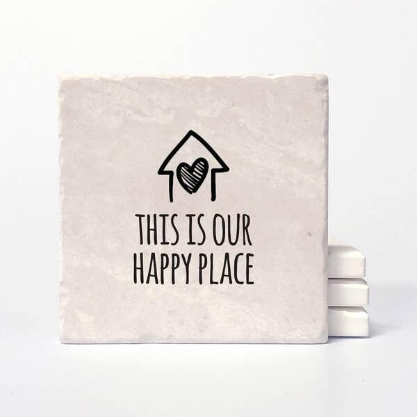 Happy Place Coasters
