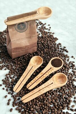 Nature Coffee Scoop and Clip