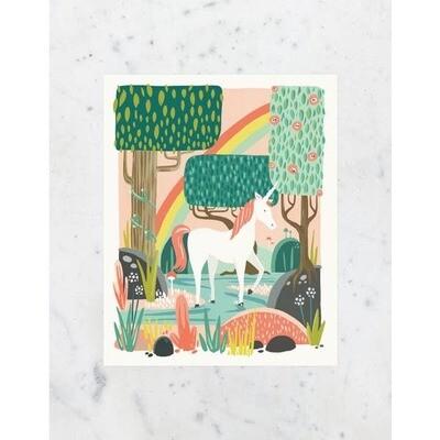 Unicorn Wall Print 8x 10 Print