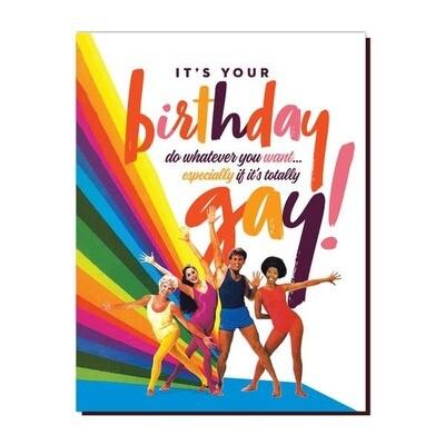 ! GAY BIRTHDAY