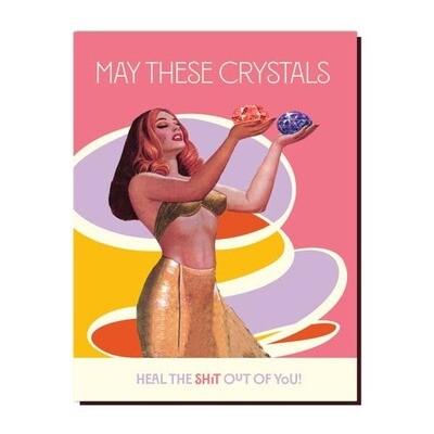 Crystal Heal Card