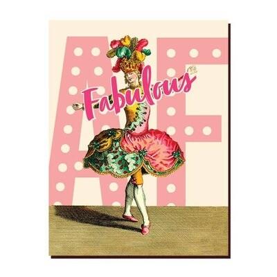 Fabulous AF Card