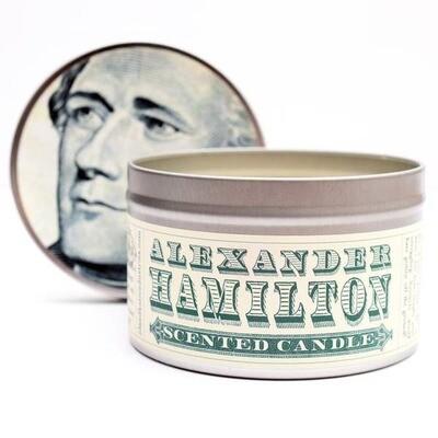Alexander Hamilton Scented Candle