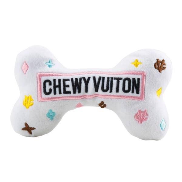 Small White Chewy Vuitton Bones