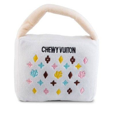 Small Chewy Vuitton White Purse