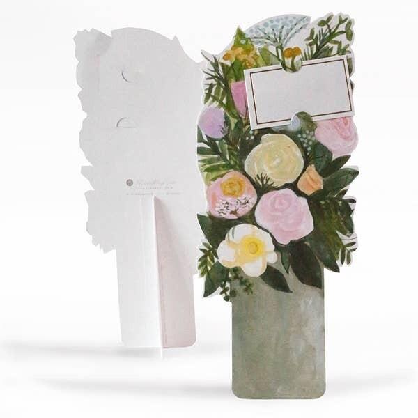 Pewter Vase Florever Card