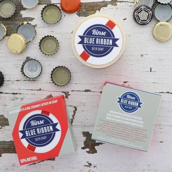 Beer Soap - Blue Ribbon