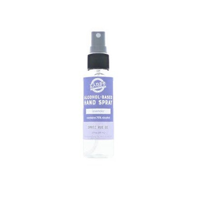 Lavender Hand Spray Alcohol Based