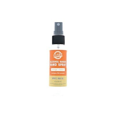 Alcohol Based Orange Lemon Hand Sanitizer Spray