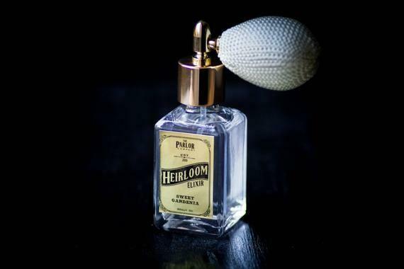 Heirloom Elixir Perfume Sweet Gardenia Floral