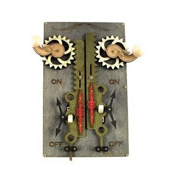 Double Rack and Pinion Switch Plate