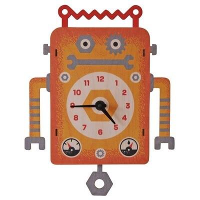 Robot Pendulum Clock
