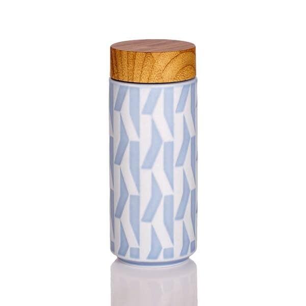 Lavender Blue Tourmaline Water Bottle