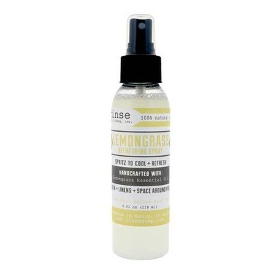 Refreshing Spray Lemongrass Linen & Body Mist