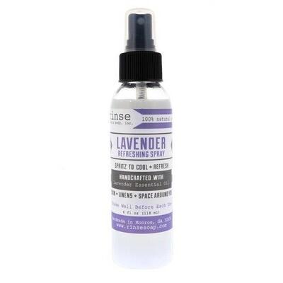 Refreshing Spray Lavender Essential Oil Linen & Body Mist