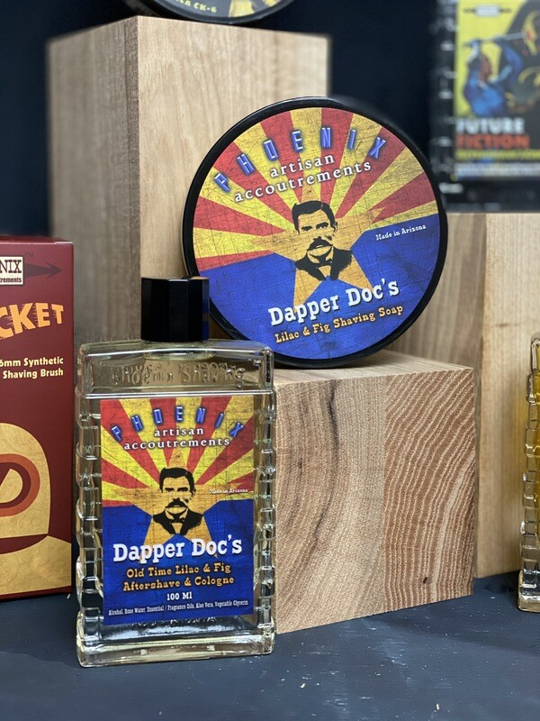 Dapper Doc's Artisan Shaving Soap